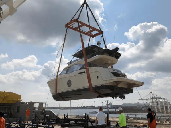 Yacht shipping. Seven Seas