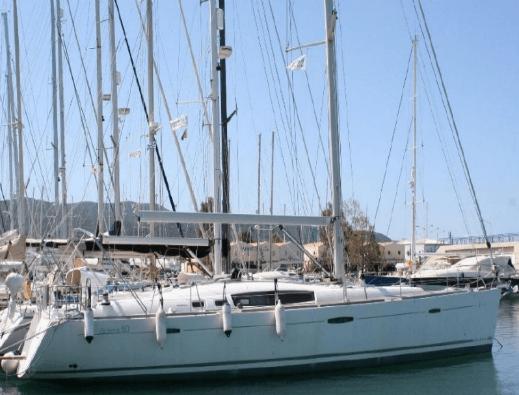 """sailing yachts.Isle Dance II"" Benteau 50' 2008"