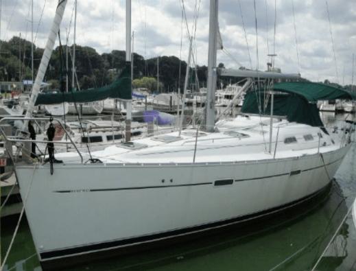 """""""Carpe Diem"""" Beneteau 39' 2004. Sailing yachts"""