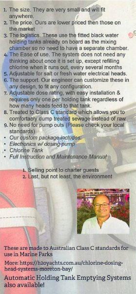 automatic chlorine dosing units