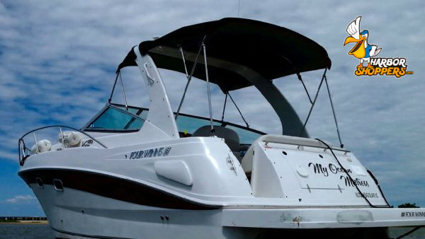 Used motor boat