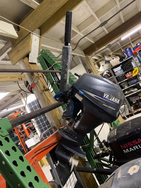 8 HP Yamaha Outboard Motor (Used)