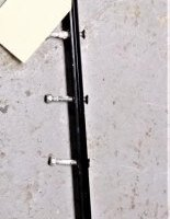 """39"""" Long Track With Rope Guide (Used)"""