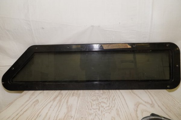 "Plastic Window Depth 1"" Black Portlight"