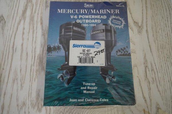 1990-1994 Mercury/ Mariner V-6 Powerhead Outboard Manual