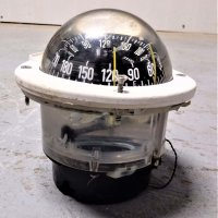 White Plastimo Compass (Used)
