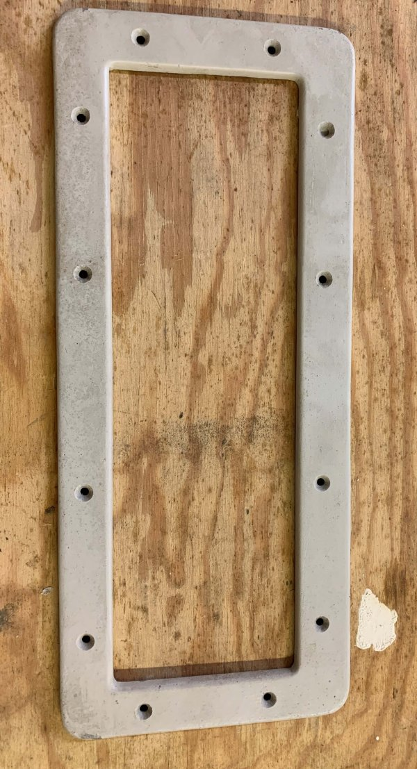 Metal Backing Plates (New)