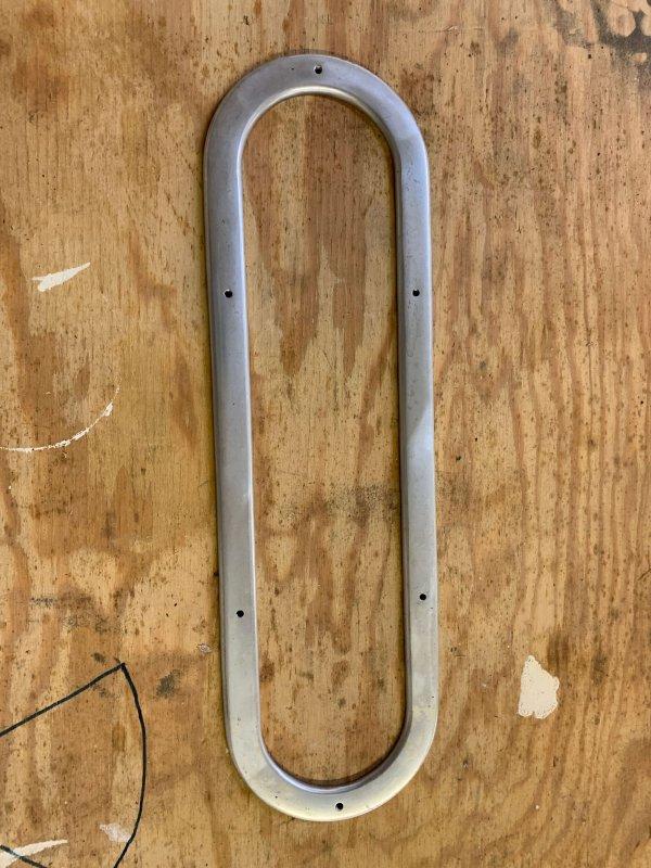 """Metal Backing Plates (17.75"""" x 5.25"""")"""