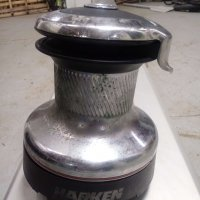 40 Stainless Steel Harken Self-Tailing Winch (Used)