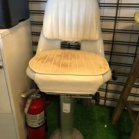 White Helm Chair (Used)