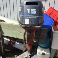 Yamaha 4 stroke 15hp Outboard Engine