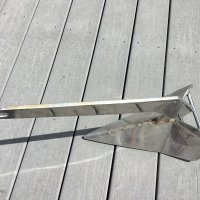 Used Stainless Steel Anchor