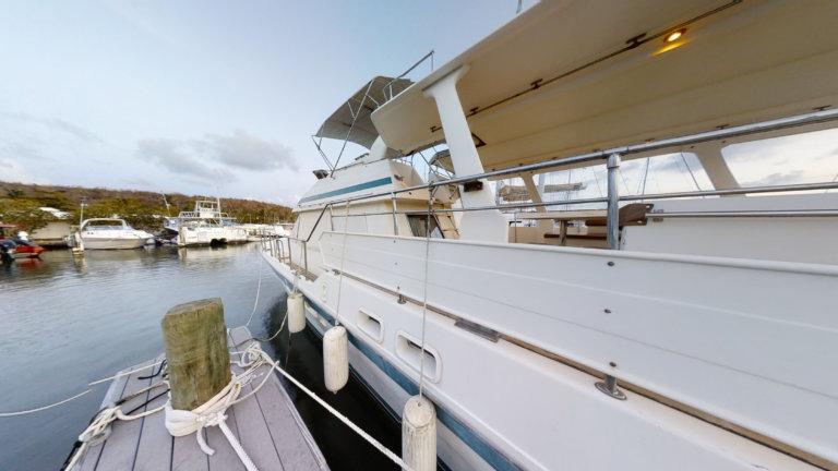 SOLD- Very Spacious Trawler 2004 58' Tarquin Corsair
