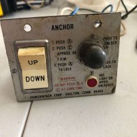 Powerwinch Corp Anchor Winch Control
