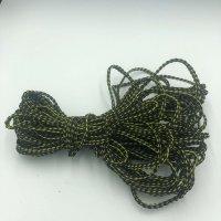 74′ of Black/Yellow Braided Rope