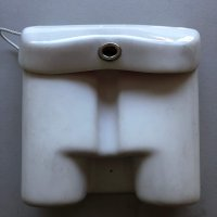 White Plastic Binnacle Cover