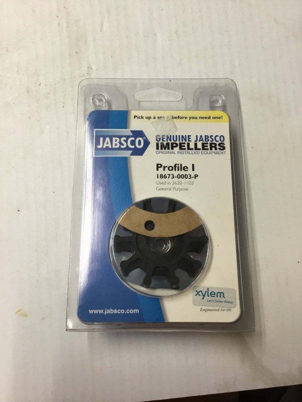 Jabsco Impeller Profile I.