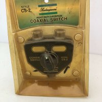 Shakespeare Style Coaxial Switch