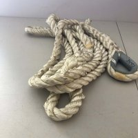 5/8″ 17′ White Bridle Rope