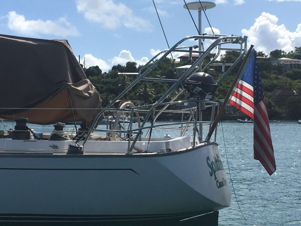 Stern Davits | Used bimini top for sale