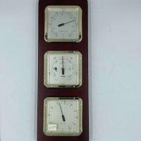 Clock, Tide and Barometer.