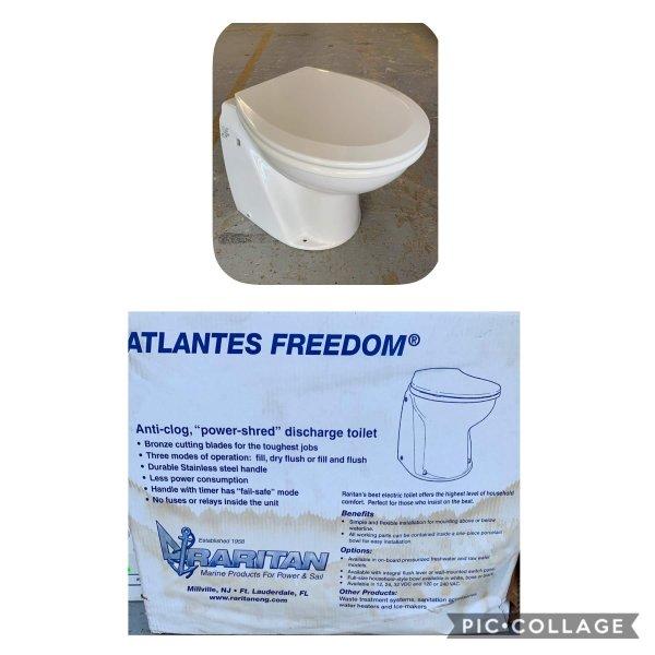 Atlantis Freedom Raritan Toilet - New in Box Model # A9F24 - 24v