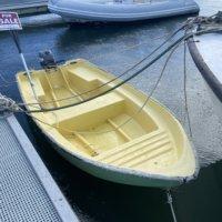 Hard Bottom Little Boat with Yamaha 15 hp(Used) Yamaha 15