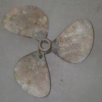 Michigan Inboard Bronze 3-Blade Right-Hand Propeller 10 1/4'' x 10''