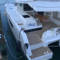 A Sailing Catamaran Combines Beauty and Comfort - Fountaine Pajot Lucia 40 (Antidote) For Sale