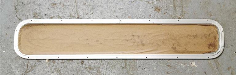 Aluminum Portlight Frame 37.5'' x 7.5''