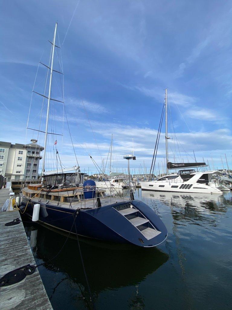 90' 1989 Ron Holland Sailing Yacht