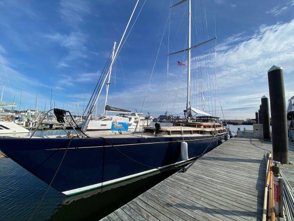 Large Sailing Yacht