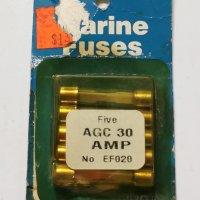 S & J Marine Fuses AGC 30 Amp #EF020