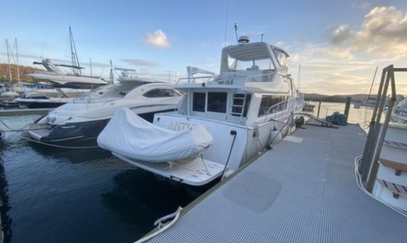 1987 Vantare CTF Marine 53 Foot Luxury Motor Yacht for Sale (Ready to Enjoy)