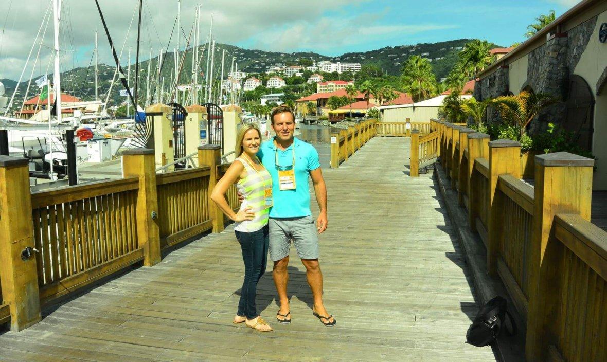 Chad and Jana. Marine Salvage