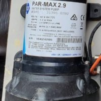 JASBCO Water Systemp Pump PAR-MAX 2.9, Model 31395-0392