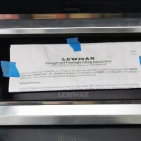 Lewmar Chrome Portlight #BS5960 ISSE 38cm x 13cm