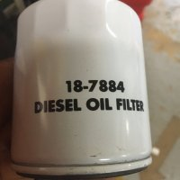 Sierra Diesel Oil Filter 18-7884