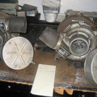 M & W marine turbochargers