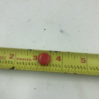 Faucet Knob Button Red(New (Out of package))
