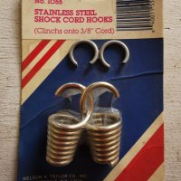 Taylor Stainless Steel Shock Cord Hooks #1055
