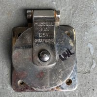 Stainless Steel Shore Power Inlet Hubbell 30A