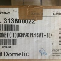 Dometic Touchpad Flush Switch Black #9108554489