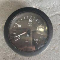 Siemens VDO Continental RPM Tachometer 4″ Gauge