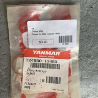 Yanmar Injector Chamber Gasket 3GM / # 124950-11450
