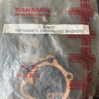 Yanmar Assorted Top Gaskets, O-Rings and Washers 3GM30