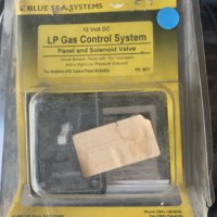 Blue Seas System LP Gas Control System and Solenoid Valve #8071