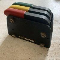Schaefer Triple Rope Jammer/Clutch 1/4-3/8''   6-10mm