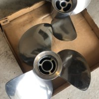New Dual Stainless Steel Propellers