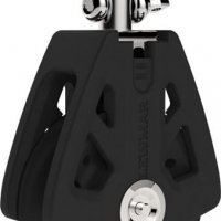 Lewmar 90mm Synchro Single Block w/ Swivel Head #29929001BK
